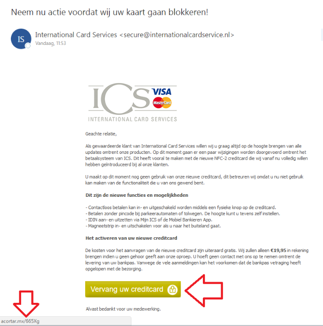 Examples Of Phishing Emails